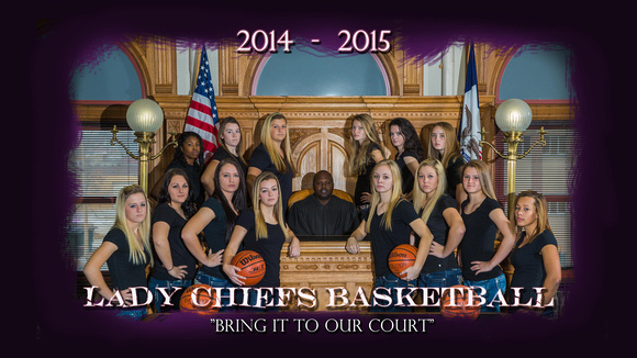 lady Chiefs Poster 2